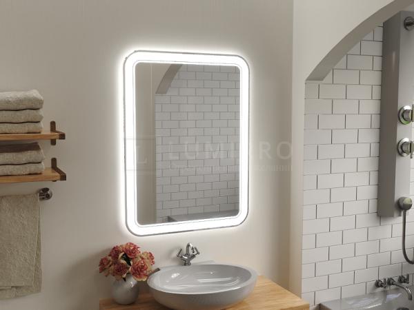 """Зеркало с подсветкой в ванную комнату """"Bollato"""""""