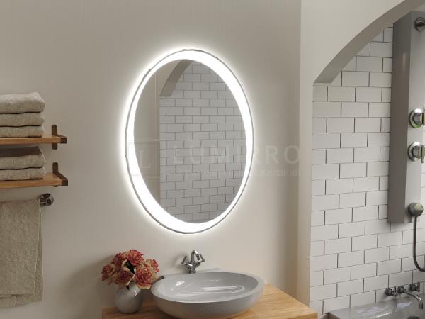 """Зеркало с подсветкой в ванную комнату """"Arcola"""""""