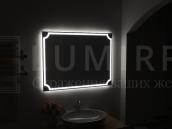 """Зеркало с подсветкой в ванную комнату """"Imperio"""""""