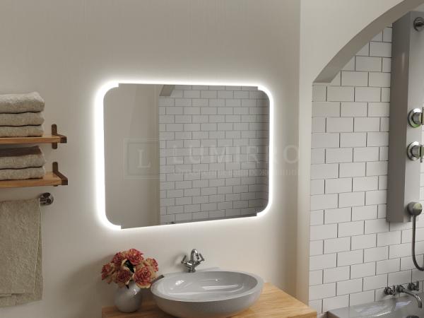 """Зеркало с подсветкой в ванную комнату """"Nochiano"""""""