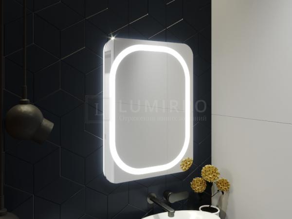 "Зеркало с подсветкой в ванную комнату ""Montale"""