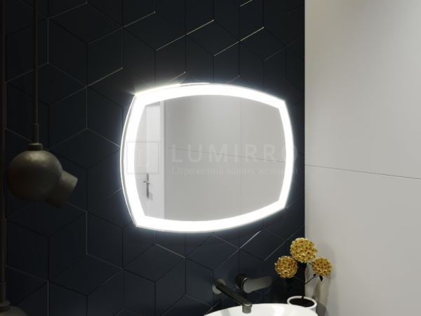 "Зеркало с подсветкой в ванную комнату ""Avin'on"""