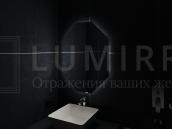 """Зеркало с подсветкой в ванную комнату """"Valenza"""""""