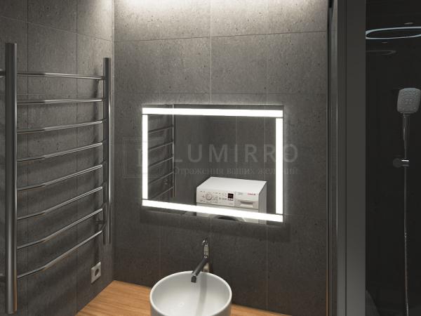 """Зеркало с подсветкой в ванную комнату """"B'entina"""""""