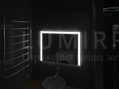 """Зеркало с подсветкой в ванную комнату """"Lorensana"""""""