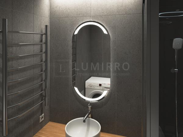 """Зеркало с подсветкой в ванную комнату """"Loretto"""""""