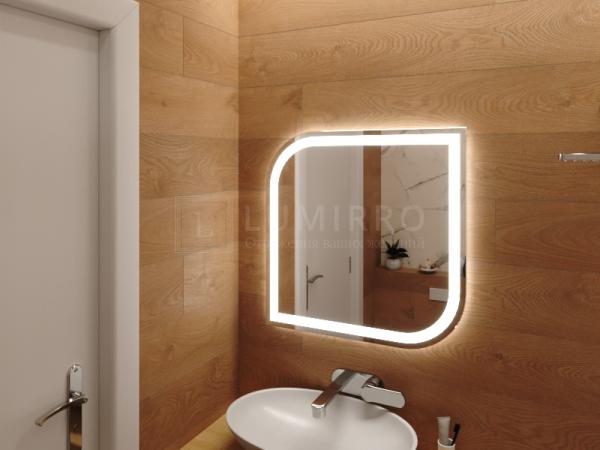 "Зеркало с подсветкой в ванную комнату ""Lissone"""