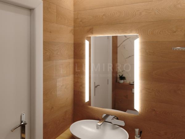 """Зеркало с подсветкой в ванную комнату """"Dorgali"""""""