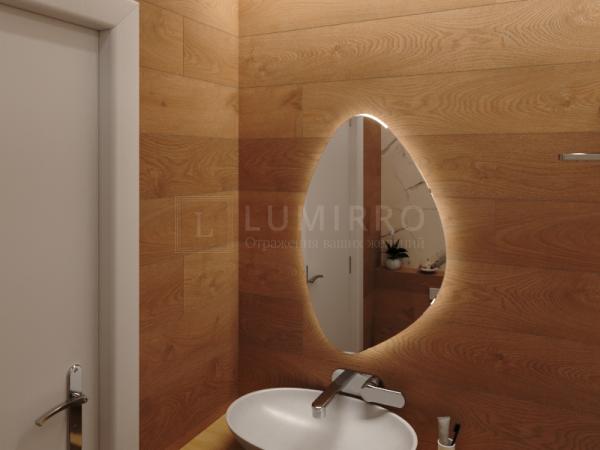 """Зеркало с подсветкой в ванную комнату """"Vasto nochi"""""""