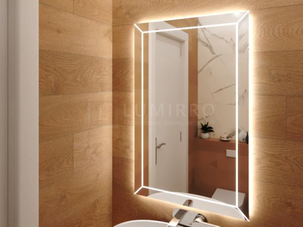 """Зеркало с подсветкой в ванную комнату """"Line"""""""
