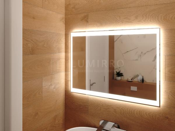 """Зеркало с подсветкой в ванную комнату """"Invorio"""""""