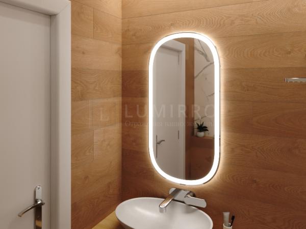 """Зеркало с подсветкой в ванную комнату """"Amati"""""""