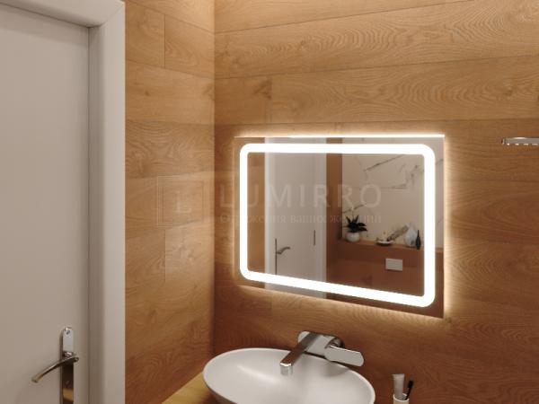 "Зеркало с подсветкой в ванную комнату ""Kamol'i"""
