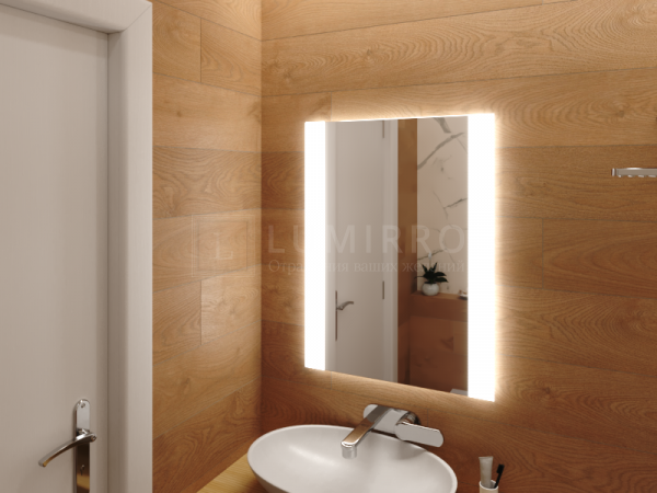 """Зеркало с подсветкой в ванную комнату """"Camino"""""""