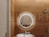 """Зеркало с подсветкой в ванную комнату """"Lacio"""""""