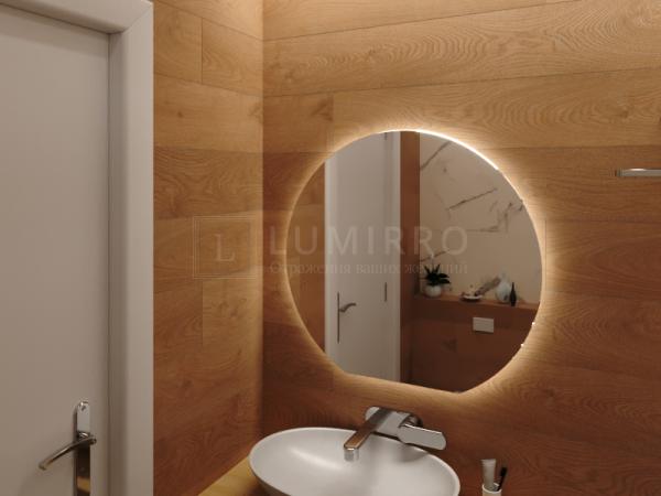 """Зеркало с подсветкой в ванную комнату """"Levanto"""""""