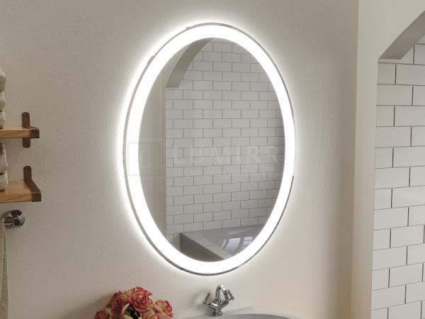 """Зеркало с подсветкой в ванную комнату """"Amelia"""""""