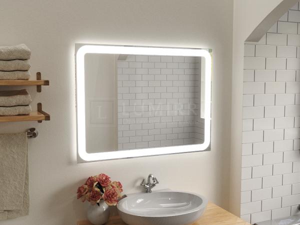 """Зеркало с подсветкой в ванную комнату """"Bellona"""""""