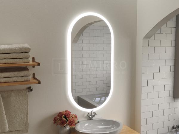 """Зеркало с подсветкой в ванную комнату """"Baredgo"""""""