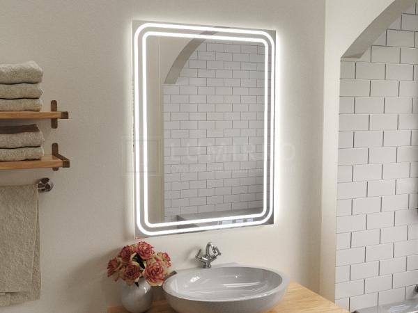 """Зеркало с подсветкой в ванную комнату """"Mores"""""""