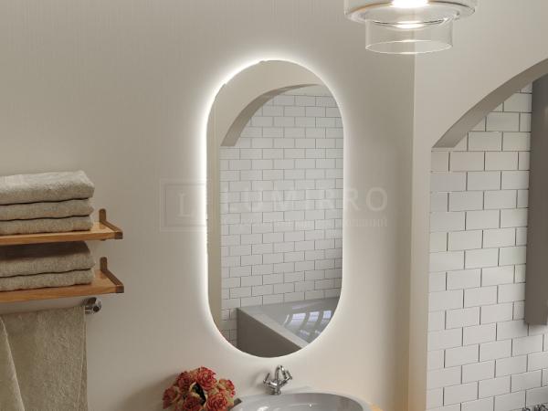"""Зеркало с подсветкой в ванную комнату """"Bicardo"""""""