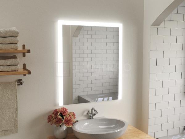 """Зеркало с подсветкой в ванную комнату """"Serino"""""""
