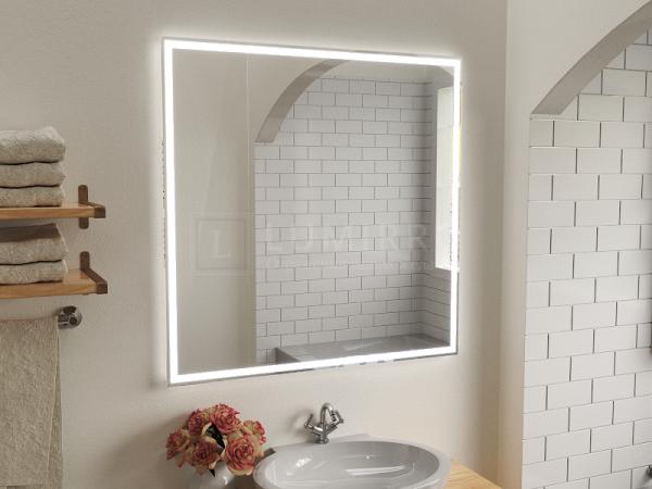 """Зеркало с подсветкой в ванную комнату """"Lumirro slim"""""""