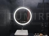 "Зеркало с подсветкой в ванную комнату ""Likato"""