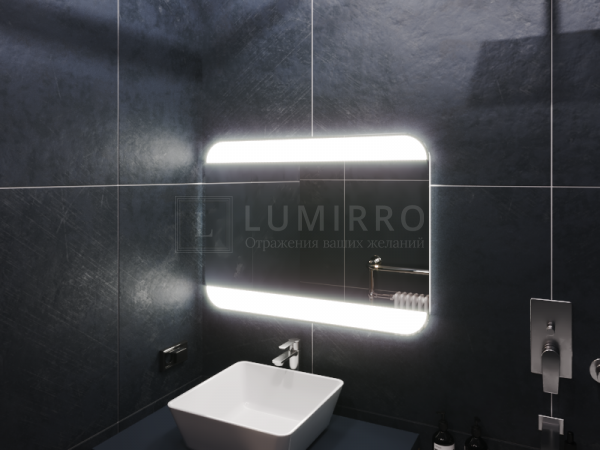 """Зеркало с подсветкой в ванную комнату """"Vil'nos"""""""