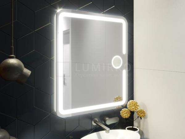 """Зеркало с подсветкой в ванную комнату """"Barollo"""""""