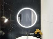 "Зеркало с подсветкой в ванную комнату ""Lentini"""