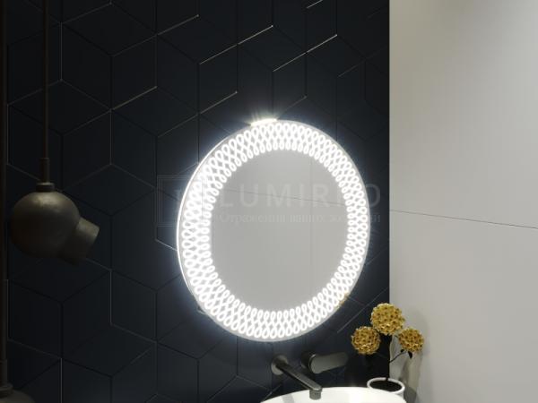 """Зеркало с подсветкой в ванную комнату """"Varedo"""""""