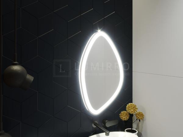 """Зеркало с подсветкой в ванную комнату """"Vasto"""""""