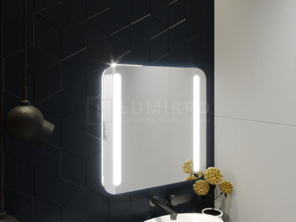 """Зеркало с подсветкой в ванную комнату """"Borno"""""""