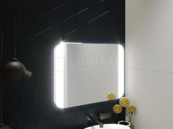 """Зеркало с подсветкой в ванную комнату """"Alassio"""""""