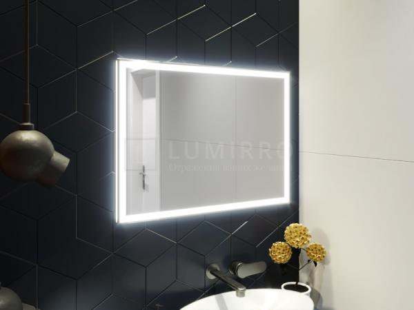 """Зеркало с подсветкой в ванную комнату """"Venetiko"""""""