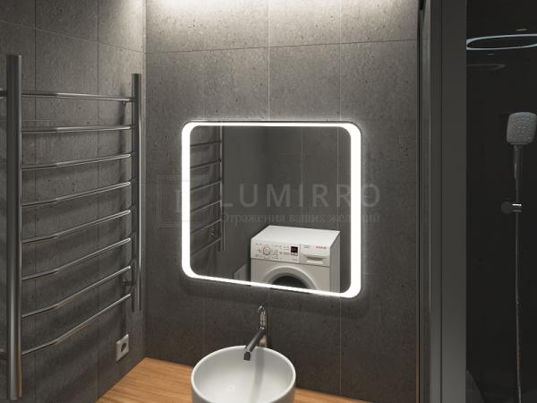 """Зеркало с подсветкой в ванную комнату """"Bolon'a"""""""