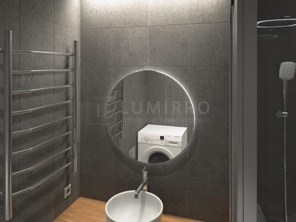 """Зеркало с подсветкой в ванную комнату """"Moon"""""""