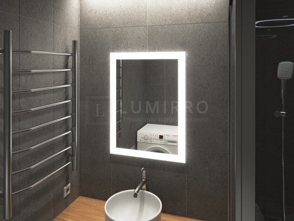 "Зеркало с подсветкой в ванную комнату ""Lal'o"""