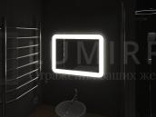 """Зеркало с подсветкой в ванную комнату """"Campli"""""""