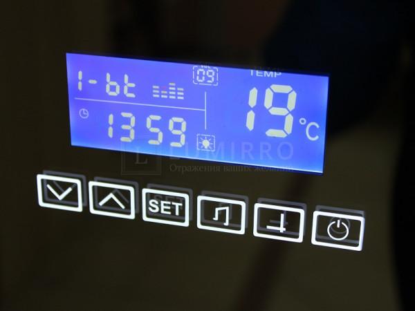 Часы с ЖК дисплеем + 2 динамика