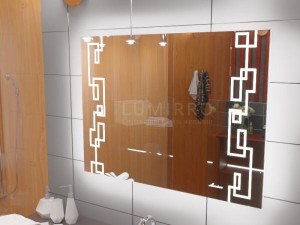 """Зеркало с подсветкой в ванную комнату """"Livorno"""""""