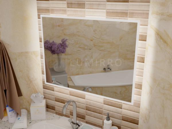 """Зеркало с подсветкой в ванную комнату """"Milano"""""""