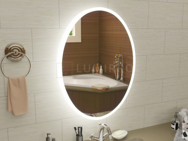 "Зеркало с подсветкой  в ванную комнату ""Avellino"""