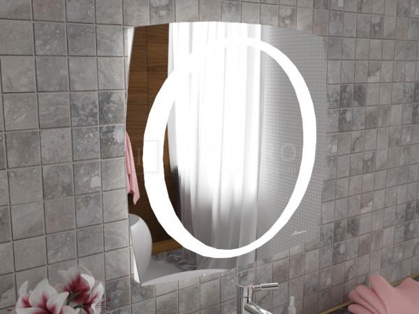 "Зеркало с подсветкой в ванную комнату ""Enna"""