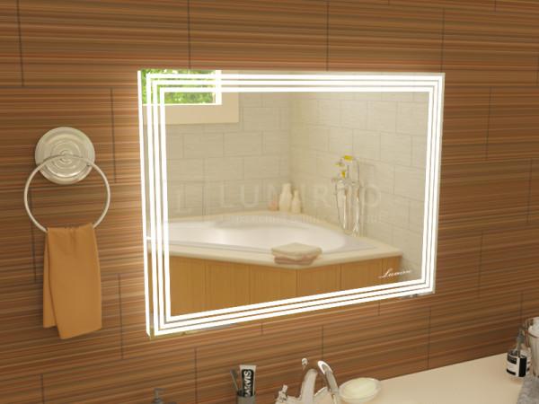 """Зеркало с подсветкой в ванную комнату """"Lumirro extra"""""""