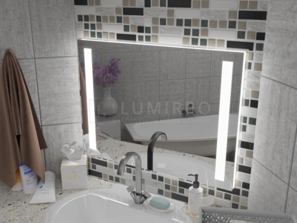 """Зеркало с подсветкой в ванную комнату """"Messina"""""""