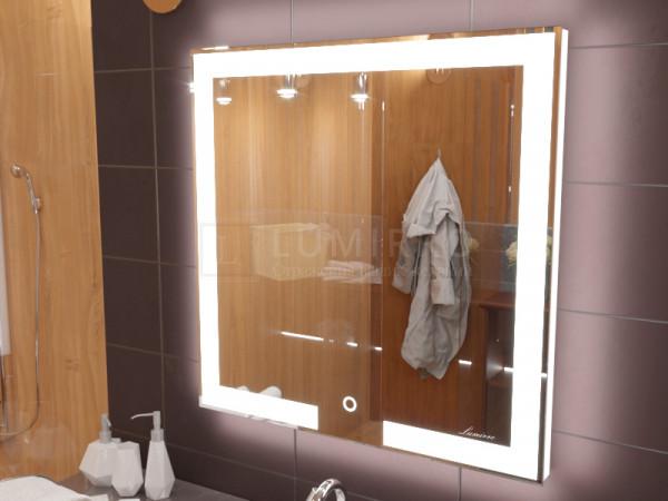 """Зеркало с подсветкой в ванную комнату """"Novara"""""""