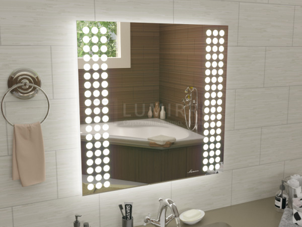 """Зеркало с подсветкой в ванную комнату """"Teramo"""""""