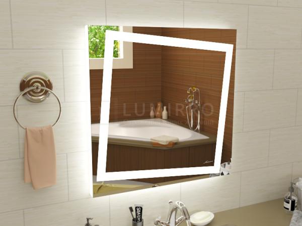 """Зеркало с подсветкой в ванную комнату """"Torino"""""""